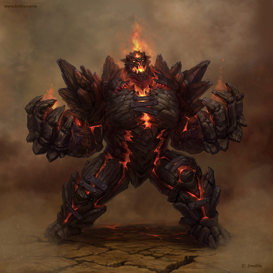 Golem destroyer by ketka