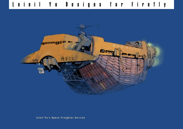 A Hammerhead-class freighter