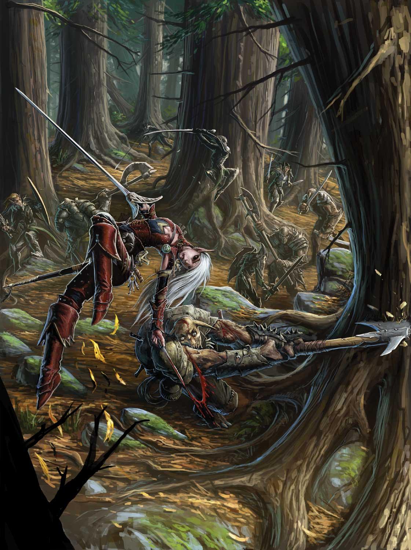Elves of golarionclean