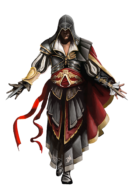 Ezio in armor of atlair   copy