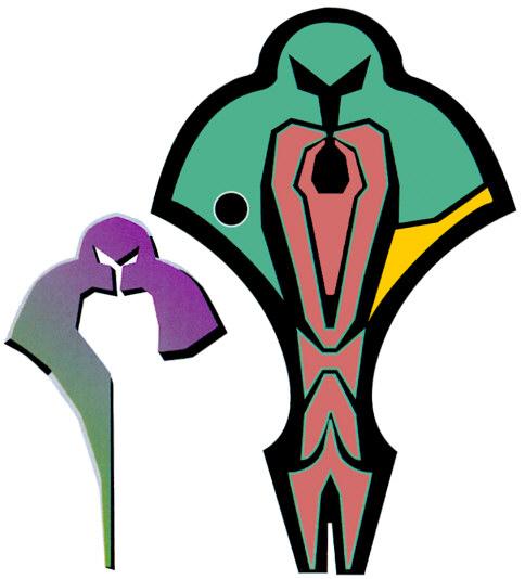 Cardassian   obsidian order emblems