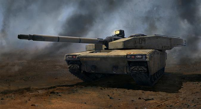 Edf tank