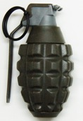 Deep fire top grenade