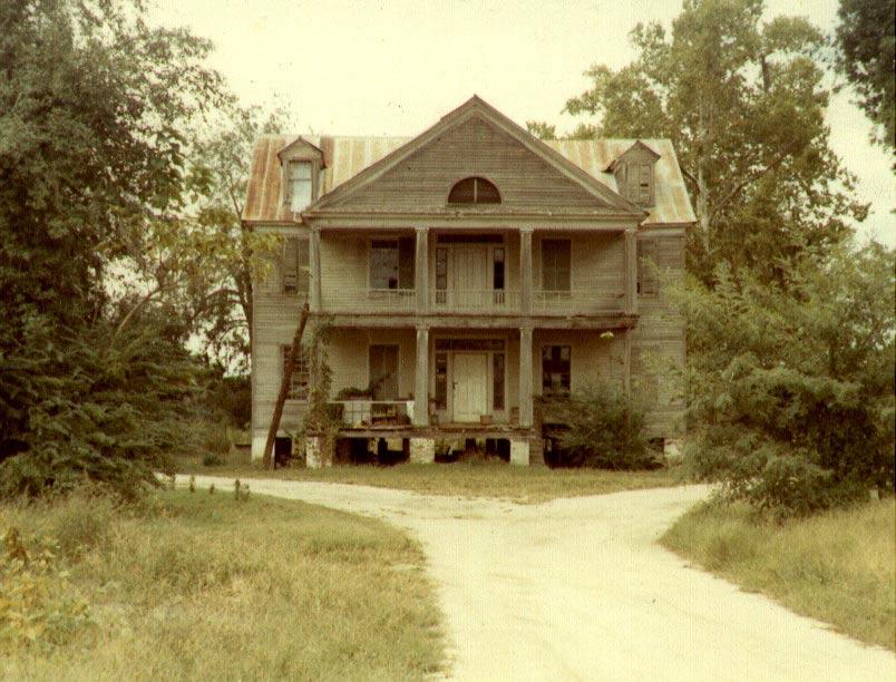 Oak grove plantation house original