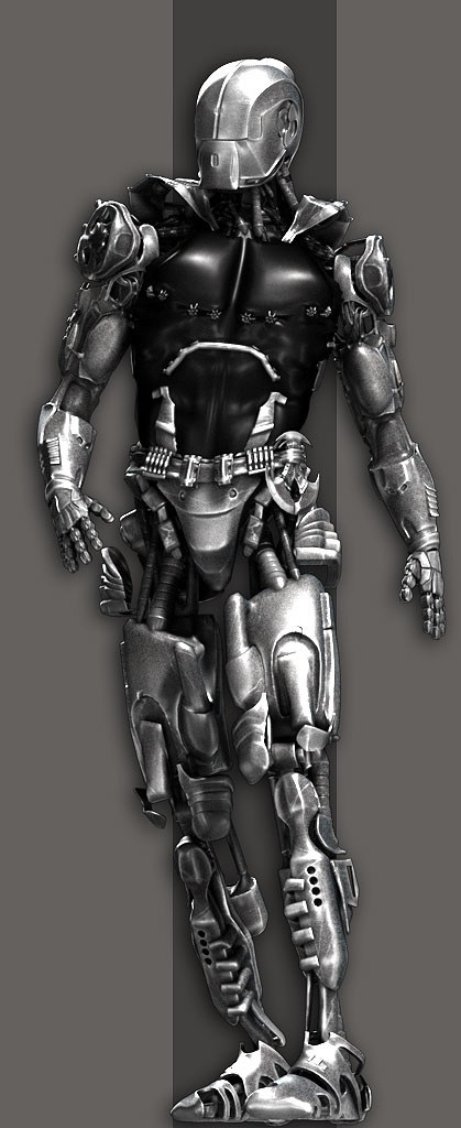 Full cyberware body