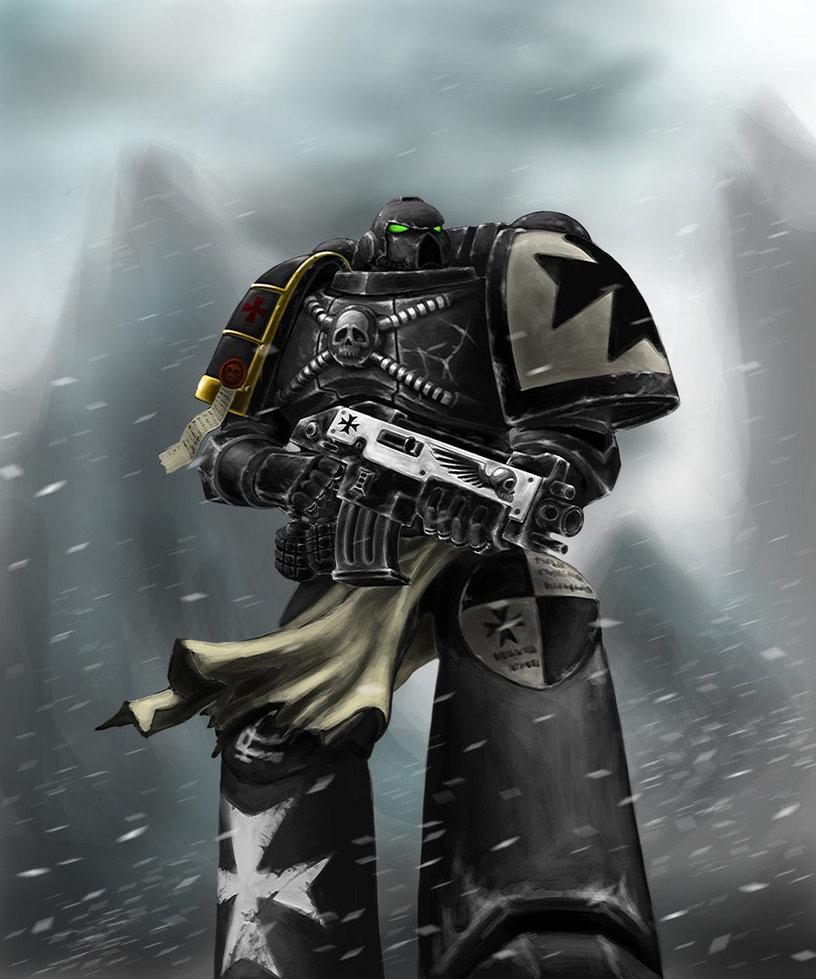 Warhammer 40k black templar by celeng d3dbyrx