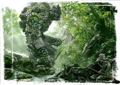 Forest golem 3