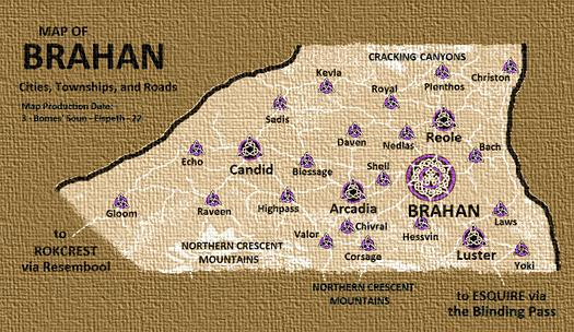 Towns of brahan