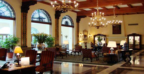 Country club interior