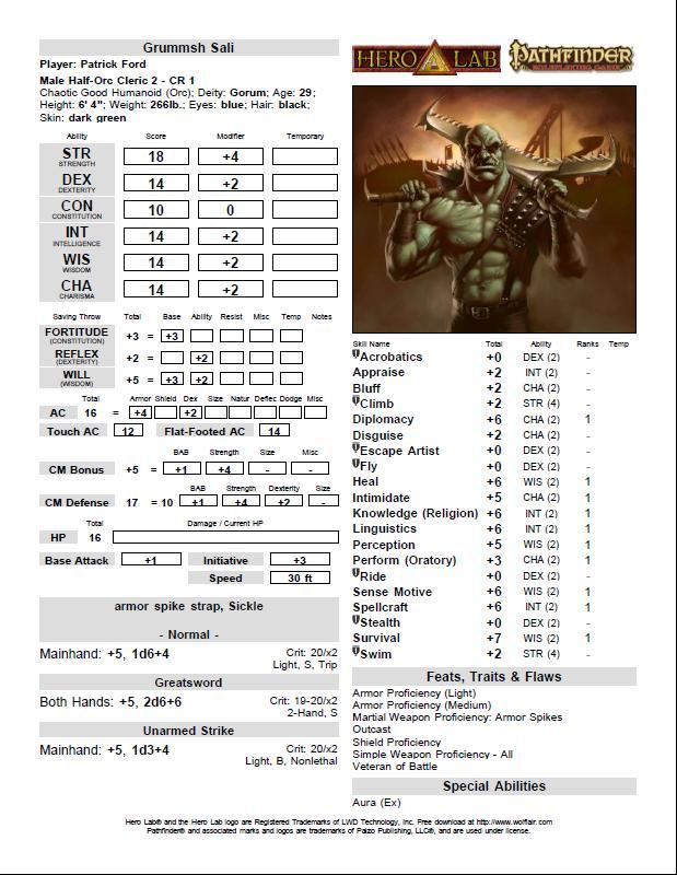 Grummsh page 1