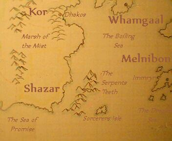 The young kingdom of shazar