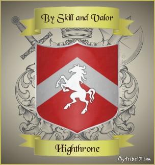 Highthrone crest