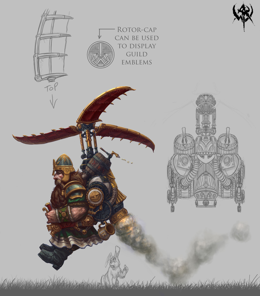 Dwarf mount t2