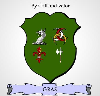 Gras family crest