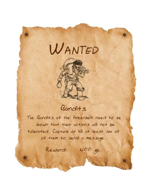 Wanted bandits