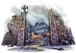Skull City Gates