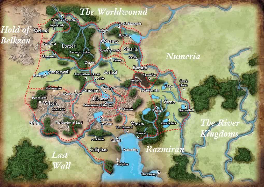 Pathfinder Island Map