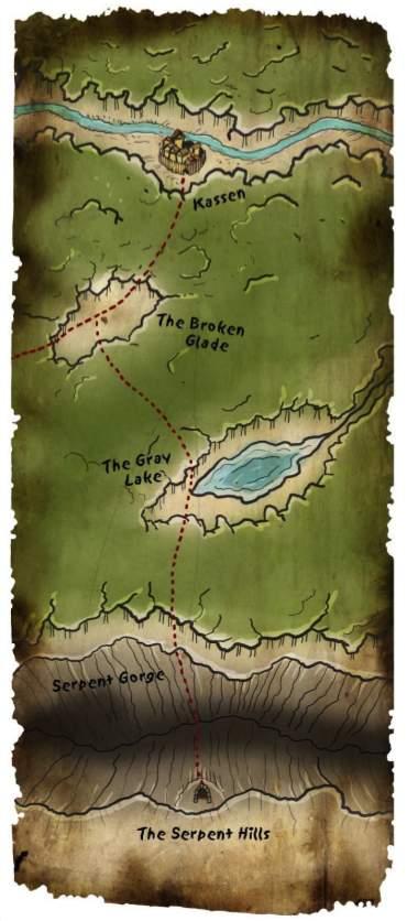 Kassen crypt map