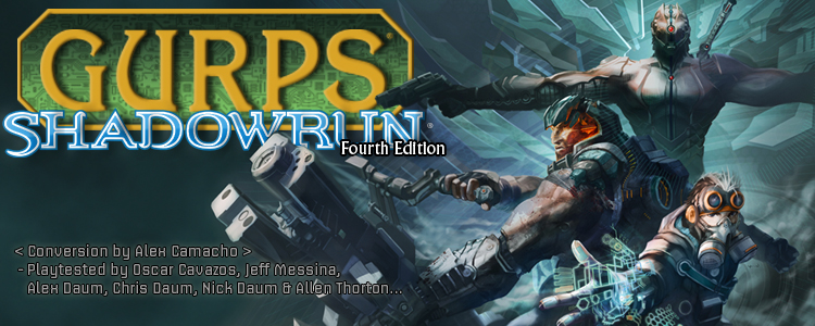 GURPS Shadowrun 4th Edition