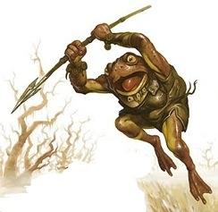 Bullywug leaper