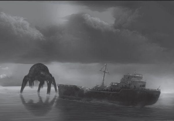 Kreatur schiff