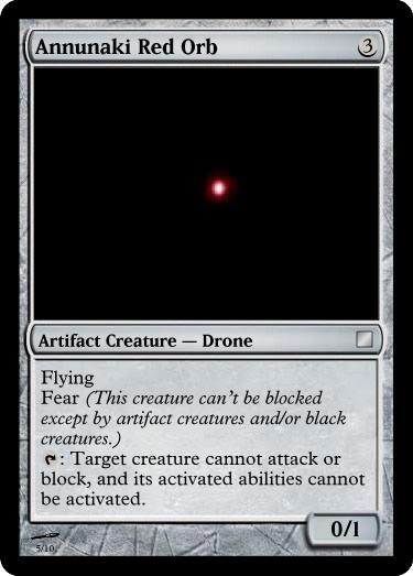 Annunaki red orb
