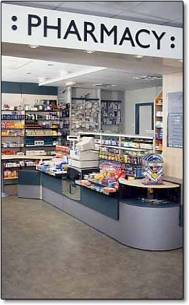 Pharmacy store front