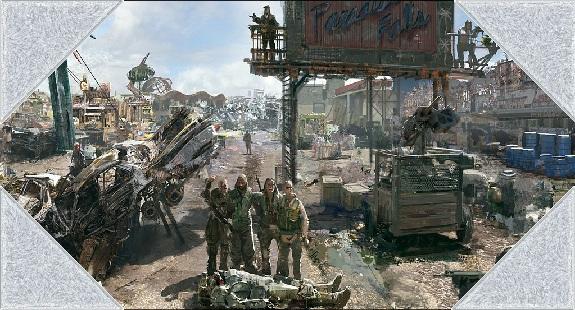 Fallout 3   paradise falls wallpaper wzyz4