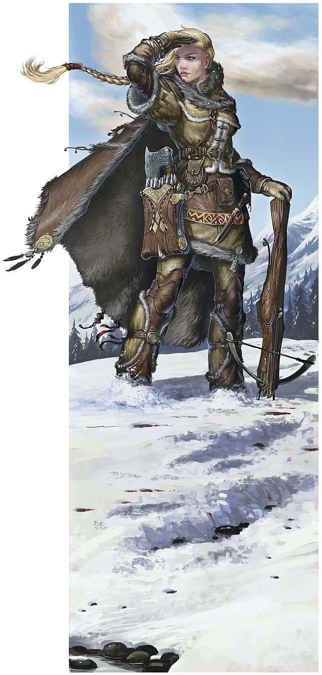 Aedwen, Norn Ranger