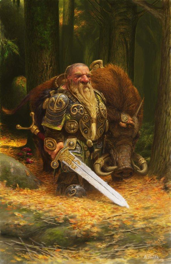 Dwarf Elite Cavalry
