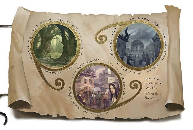 Feywild, Natural World, and Shadowfell