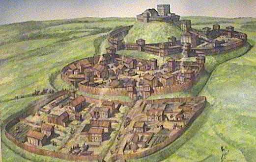 Motte   bailey castle
