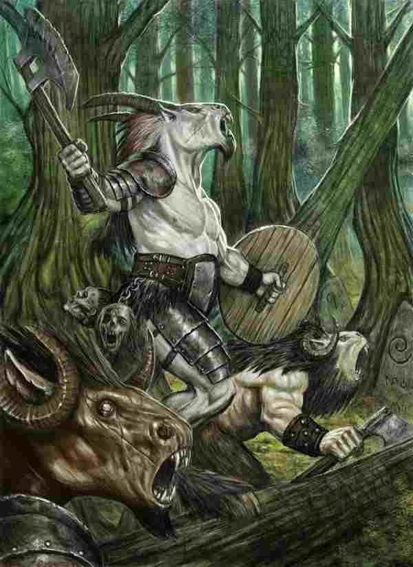 Beastmen by wiggers123