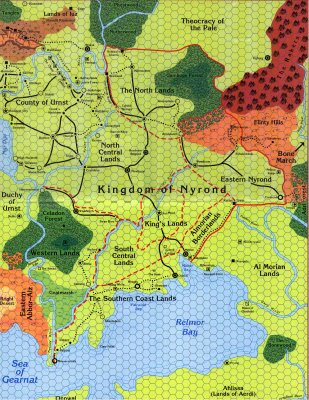 Nyrond map