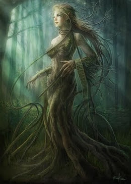 Female dryad