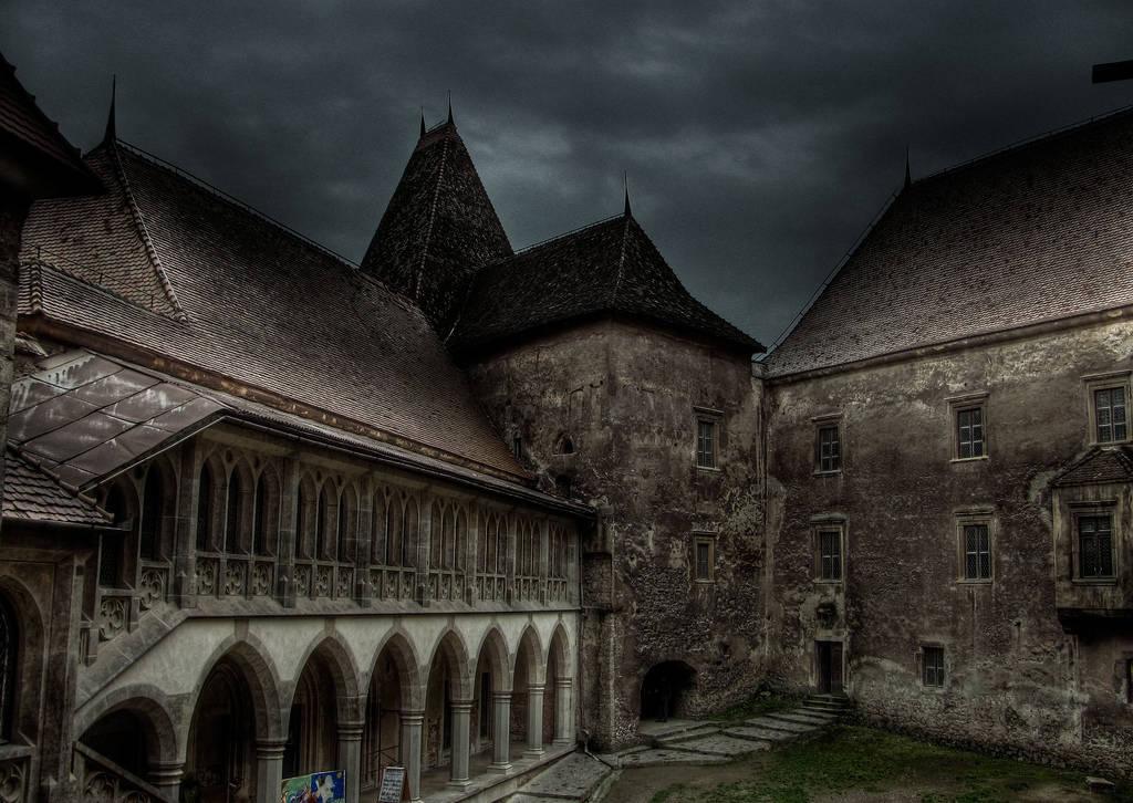 Hunedoara castle romania