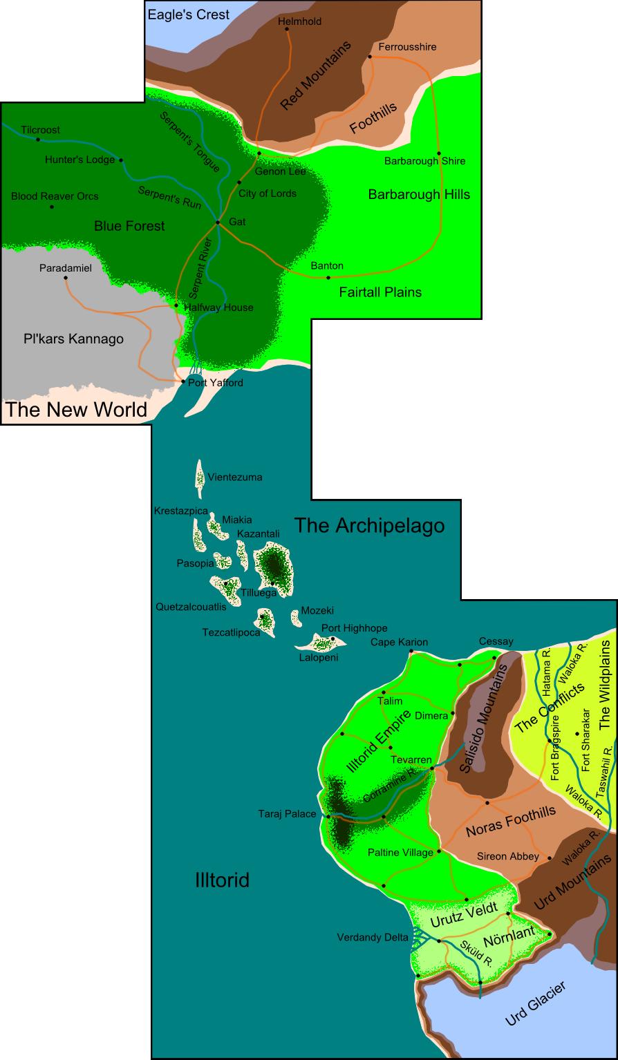Illtorid atlas   known world