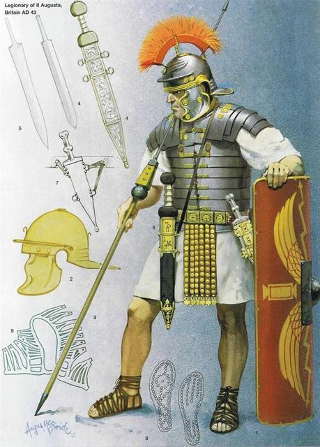 Late Imperial Legionary