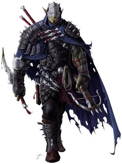 Orc shadowblade