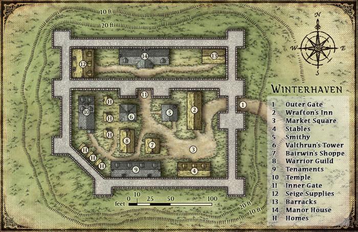 Winterhaven map small
