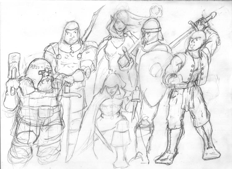 Group portrait pencil scan750