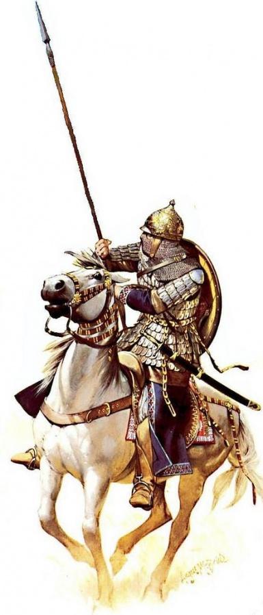 Bassuri cavalryman