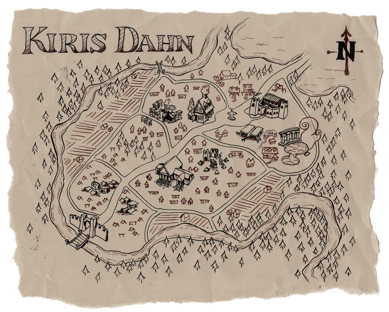 Kiris dahn map full size