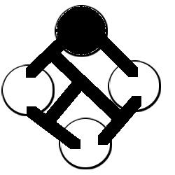 Symbol talon straad friend pale