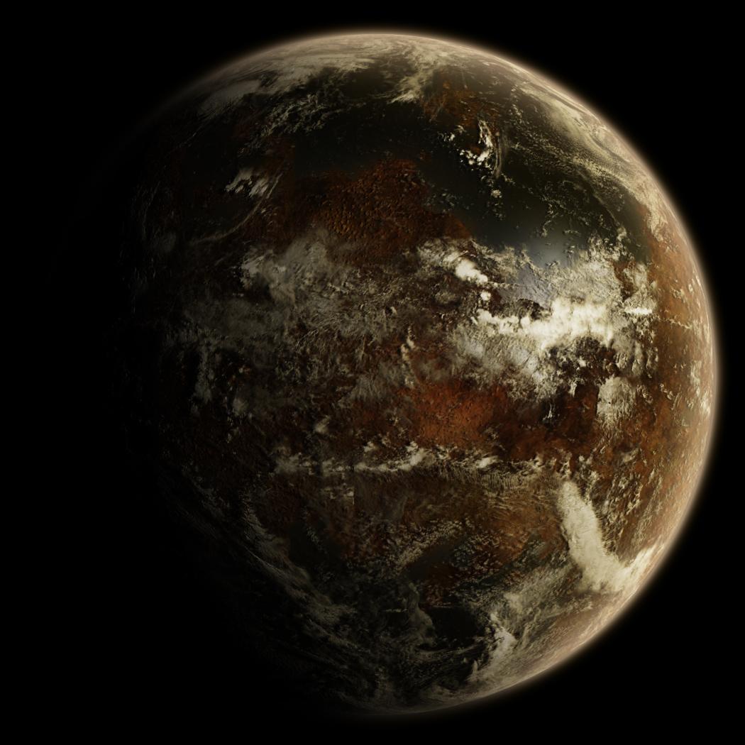 An alien planet   free source by hoevelkamp