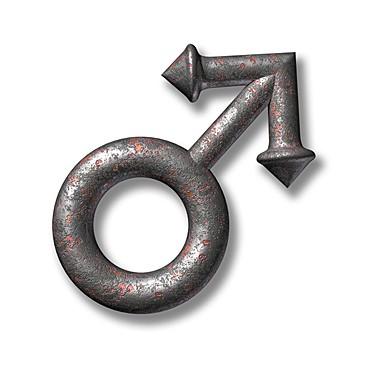 Alchemy iron symbol