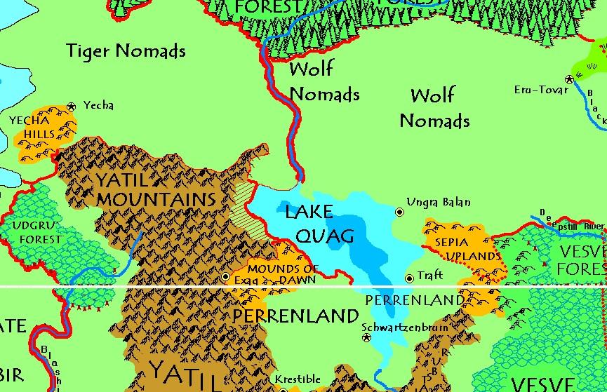Lake quag
