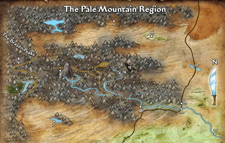 Pale mountains