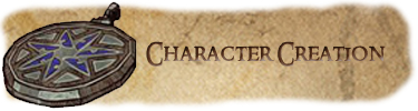 Character creation button