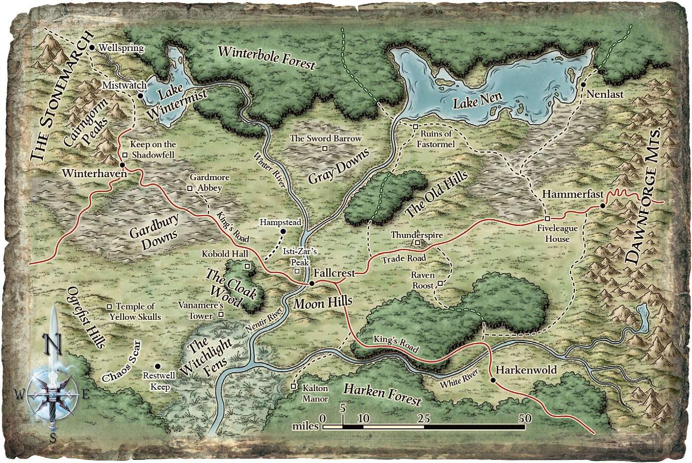Nentir map